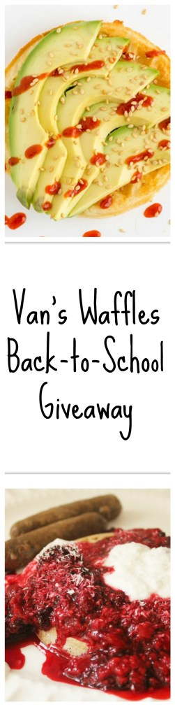Win a year of free waffles, signed Joy Bauer cookbooks, and get wholesome frozen waffle topping ideas!