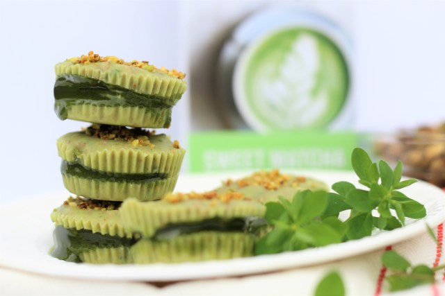 Leprechaun Cups - All-Natural and Vegan St. Patrick's Day Desserts! Vegan St. Patricks Day - Naturally Green Food - Holiday Desserts