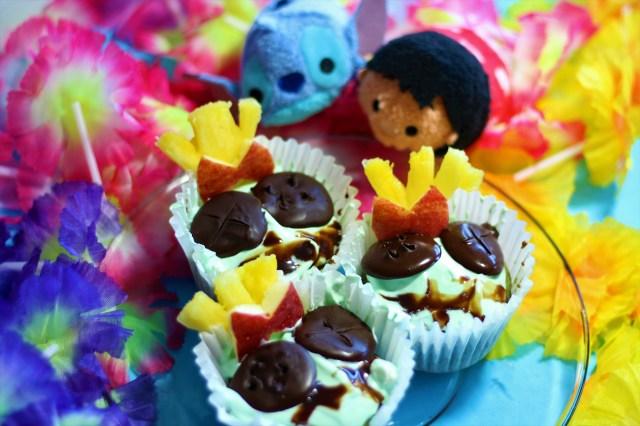 Vegan Lilo & Stitch Inspired Cupcakes - Scrumpcakes