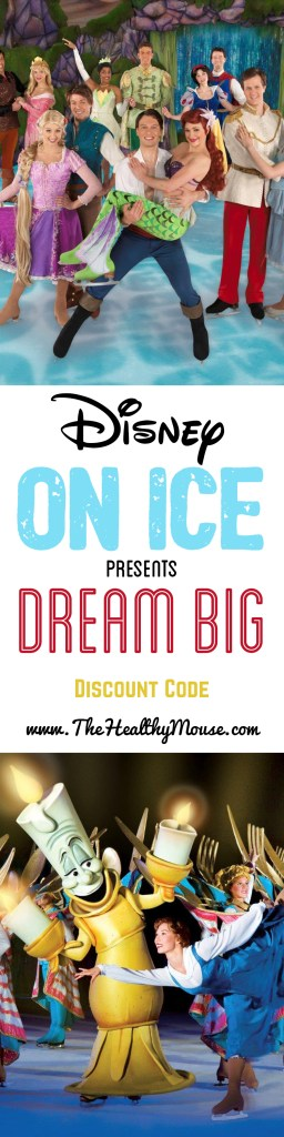 Disney On Ice coming to Southern California - plus amazing Disney On Ice Discount code! #DisneyOnIce #Dreambig #disneyprincess #ad