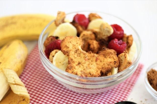 Vegan Cinnamon Toasted Mickey Cereal - Vegan, Healthy, Gluten-Free, Disney Breakfast, Homemade Cereal