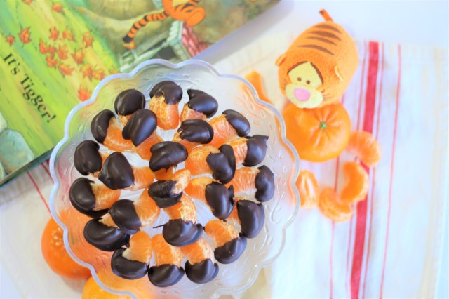 Tigger Tails - Healthy Winnie the Pooh Inspired Recipe