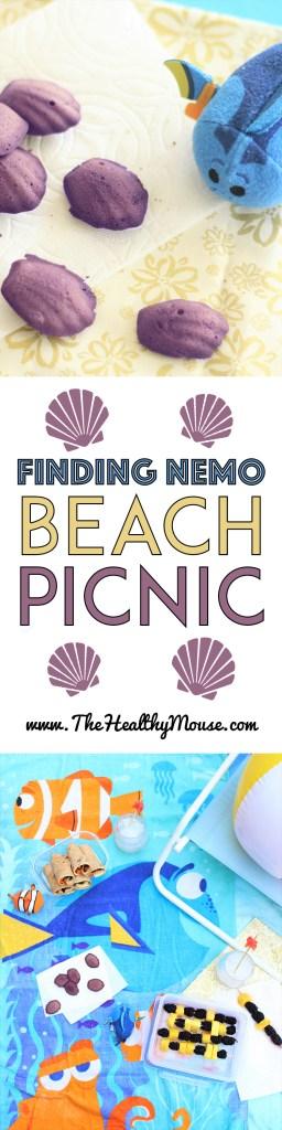 Finding Nemo Beach Picnic - Disney Picnic - Finding Nemo Party - Finding Dory Party - Finding Nemo Food
