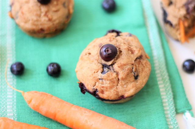 Judy's Family Farm Muffins – Zootopia Inspired Blueberry Carrot Muffins