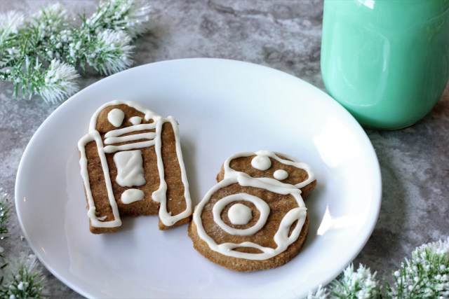 Cute Creatures Star Wars Gingerbread Cookies