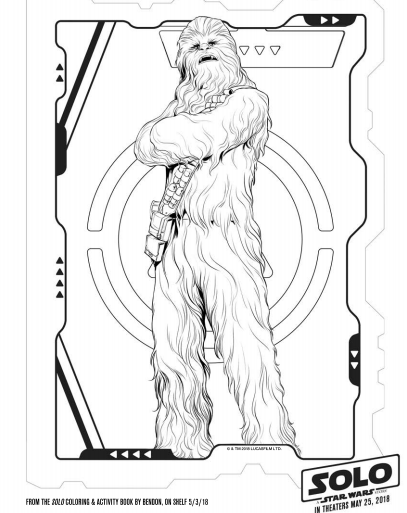 solo a star wars story star wars coloring pages 9 - The Healthy Mouse