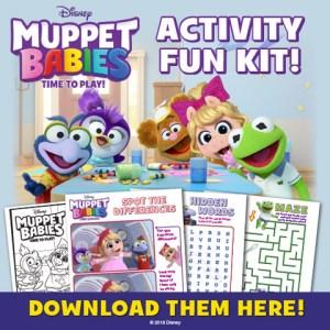 Muppet Babies Activity Sheets