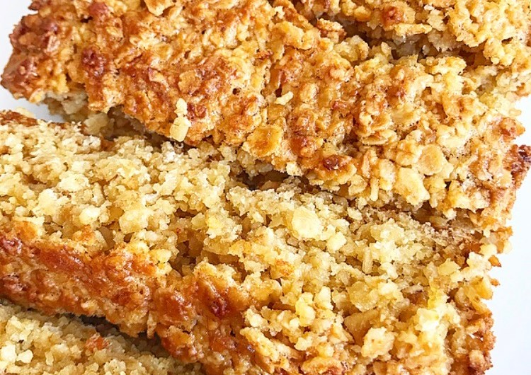 Honey Oat Slices