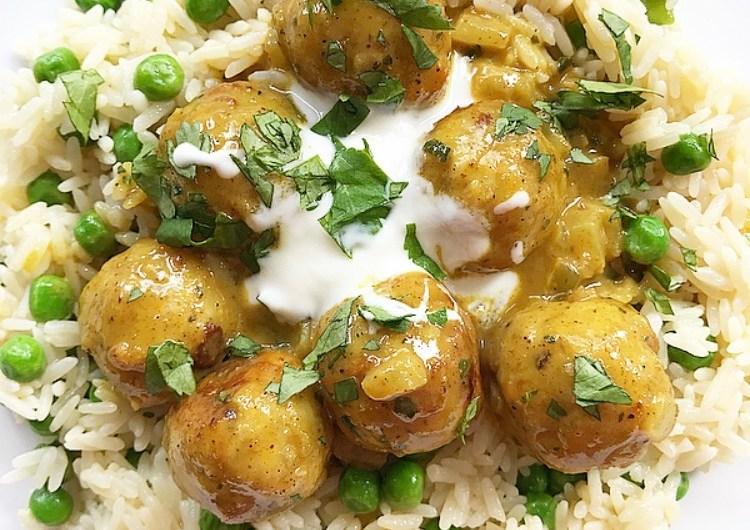 Chicken Meatball Korma