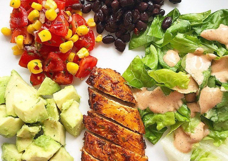 Chipotle Chicken with Corn Salsa