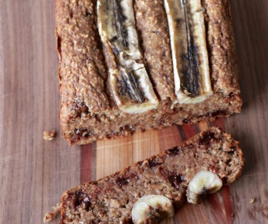 Gluten Free Date Sweetened Vegan Banana Bread