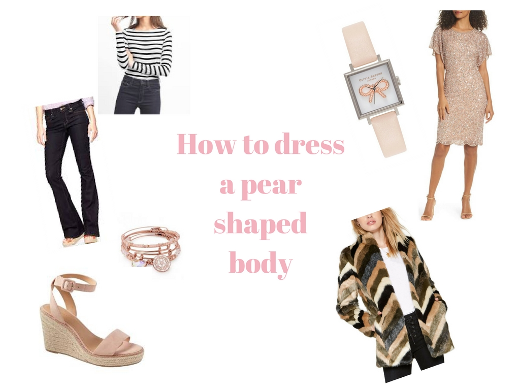 What To Wear For Your Body Type: How to dress a pear shaped body
