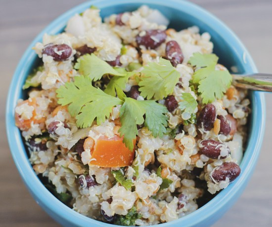 The easiest plant-based recipe you will ever make. Quinoa and beans create the perfect meal packed with protein and fibre. Enjoy Beanoa on its own or as a side dish.