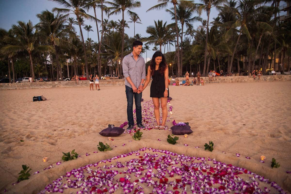 Top Hawaii Marriage Proposal Ideas & Easy To Book Packages