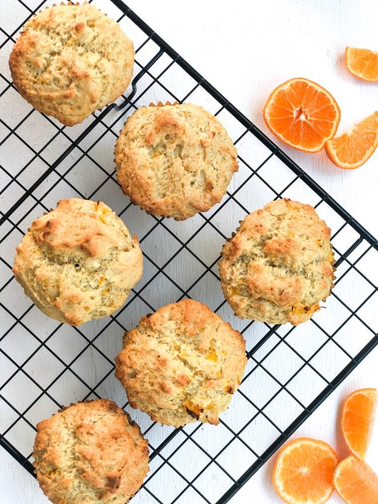 The Best Vegan Orange Muffins