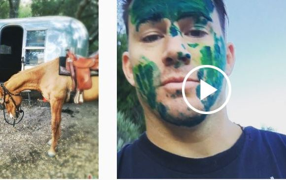 Channing Tatum Rescues A Horse Named Cajun On His Birthday!