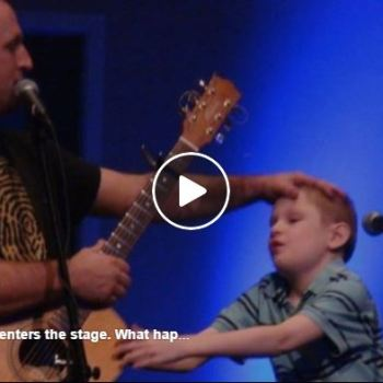 This Blind, Autistic Boy Enters The Stage – What Happens Next Will Give You Goosebumps