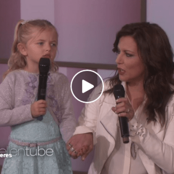 "Four Year Old Sings ""I'm Going To Love You Through It"" To Her Mother Who's Battling Stage Four Cancer"