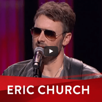 Eric Church's Heartfelt Words And Song For The Las Vegas Victims