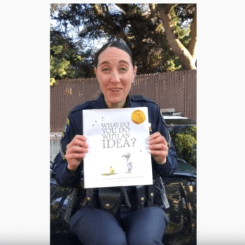 Police Officer Hosts Online STORYTIME For Children – This Is So Cool!!!