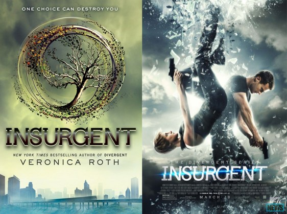 Insurgent book movie differences