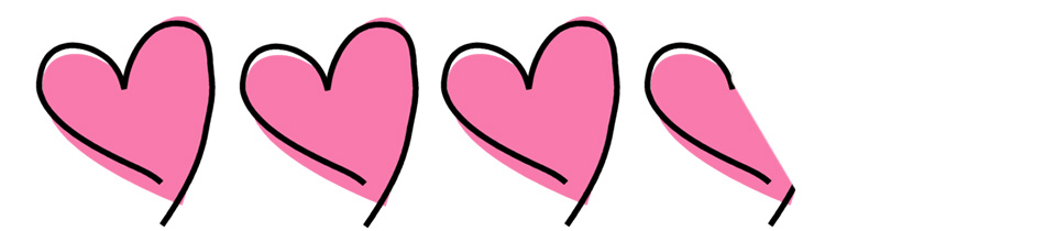 3.5 hearts
