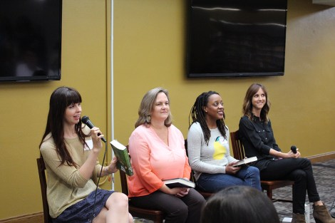 second chances panel - the heart of a book blogger