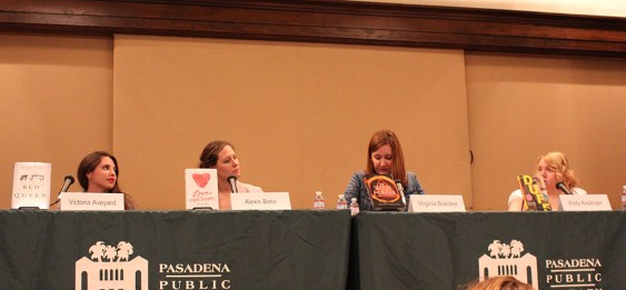 the first time panel - the heart of a book blogger