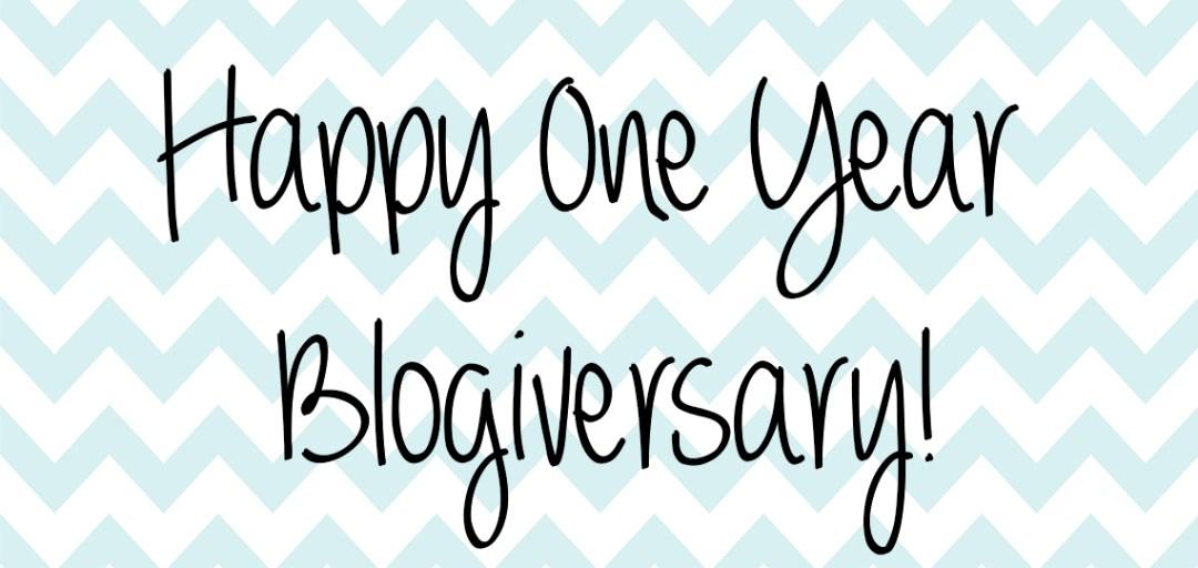 blogiversary - theheartofabookblogger