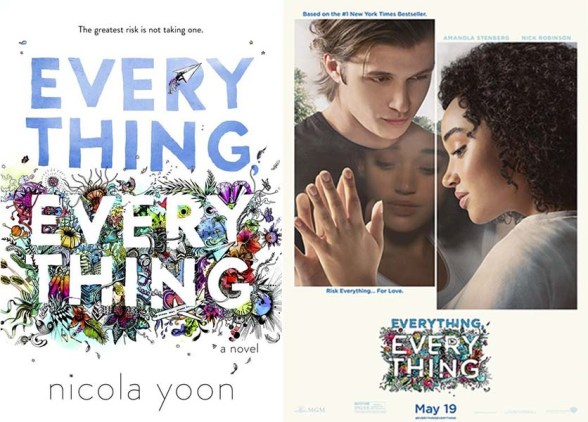 Everything Everything book movie differences