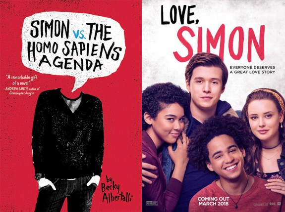 Love Simon book movie differences