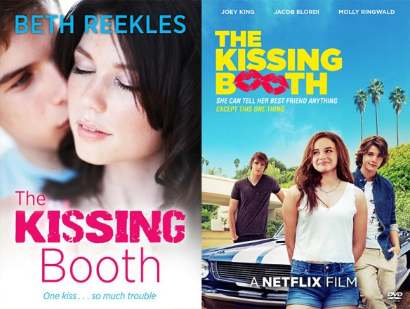 The Kissing Booth book movie differences