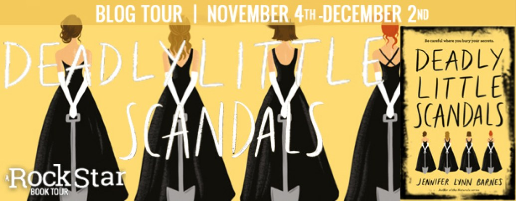 Deadly Little Scandals Blog Tour