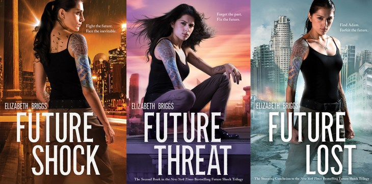 Future Shock trilogy Elizabeth Briggs