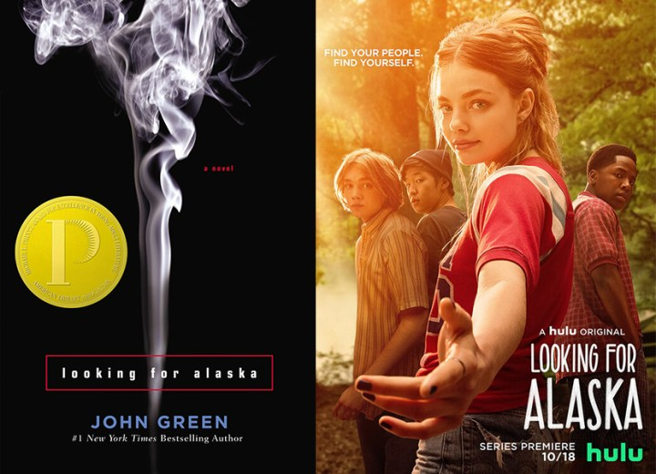 Looking for Alaska book show differences show