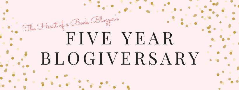 Five Year Blogiversary