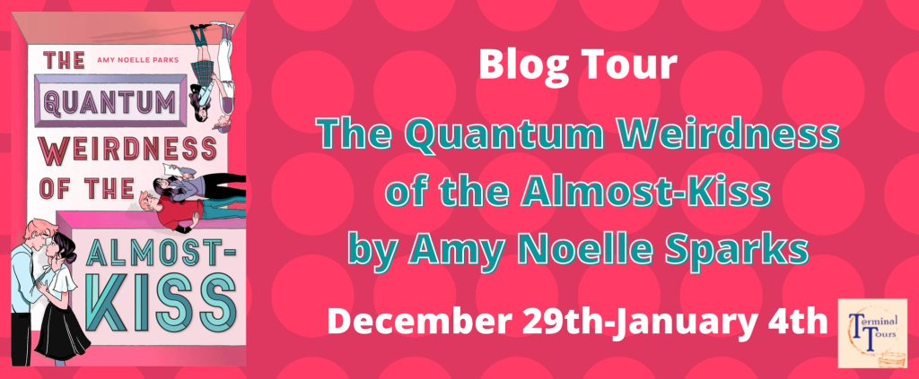 The Quantum Weirdness of the Almost-Kiss Blog Tour