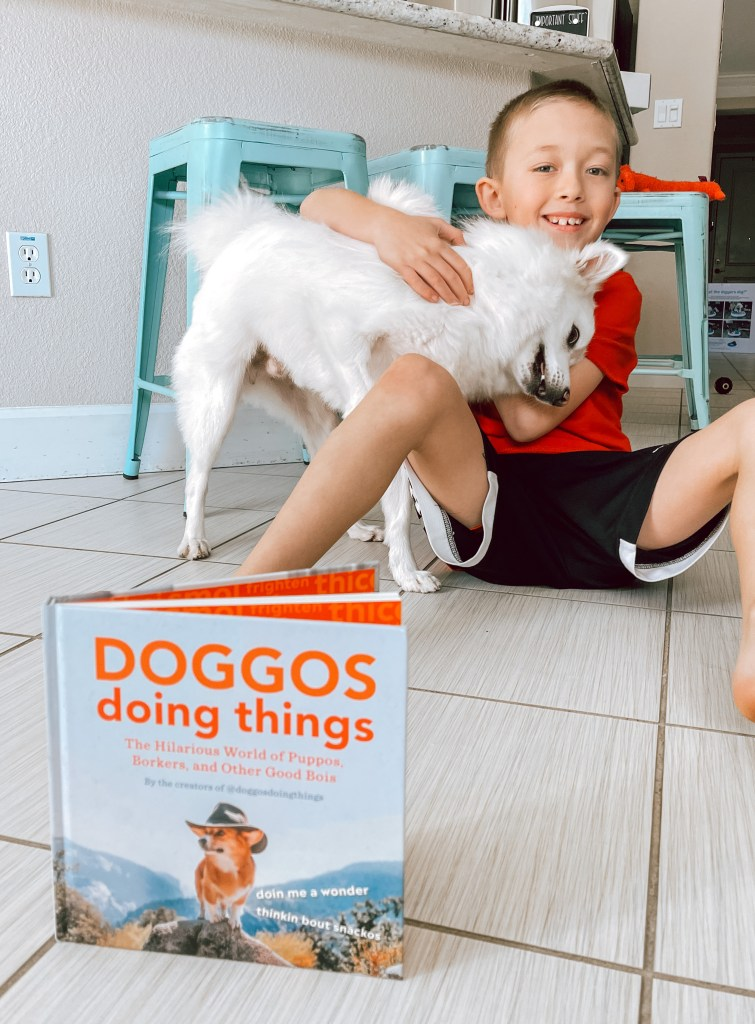 The Book: Doggos Doing Things: The Hilarious World of Puppos, Borkers, and Other Good Bois