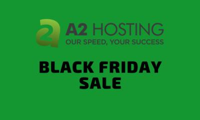 A2 hosting black Friday & cyber Monday sale 2019