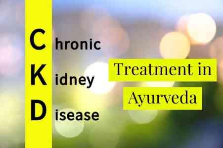 Ayurvedic treatments for chronic diseases.