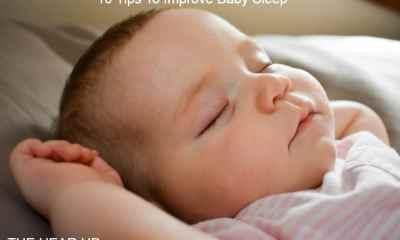 10 Tips To Improve Baby Sleep