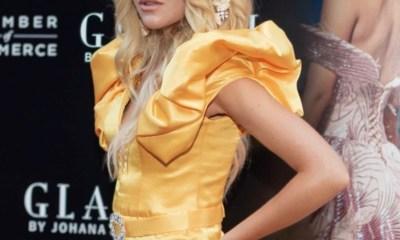 Top model Joanna Borov Stunned Audience At Glaudi Fashion Show By Johana Hernandez