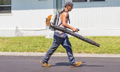 Old leaf blowers VS latest Backpack leaf Blowers