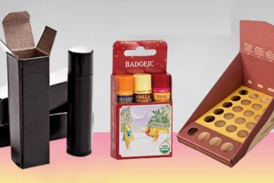 custom lip balm packaging wholesale