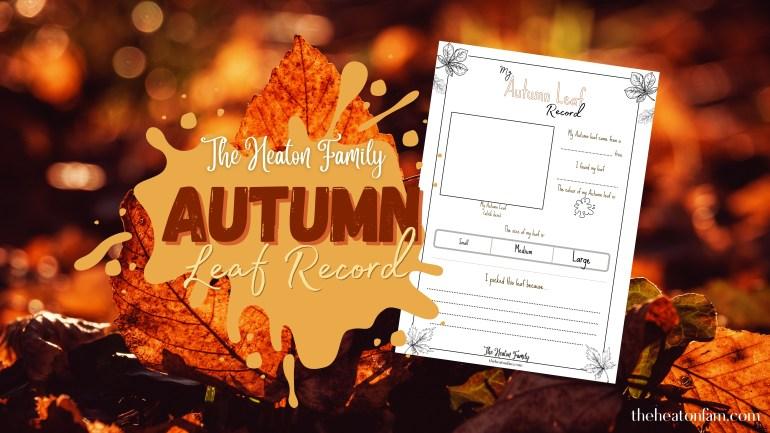autumn leaf printable