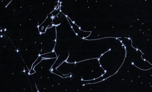 Glorious White Horse Constellation