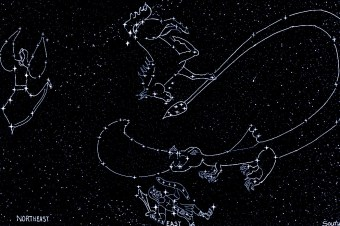 Early Winter Bible Constellations- darker