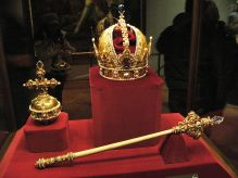 http://en.wikipedia.org/wiki/File:Sceptre_and_Orb_and_Imperial_Crown_of_Austria.jpg