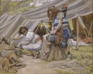 James Tissot - Jacob & Esau - The Mess of Pottage - wikipedia - US public domain