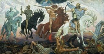 wikipedia public domain 4 horsemen of Apocalypse
